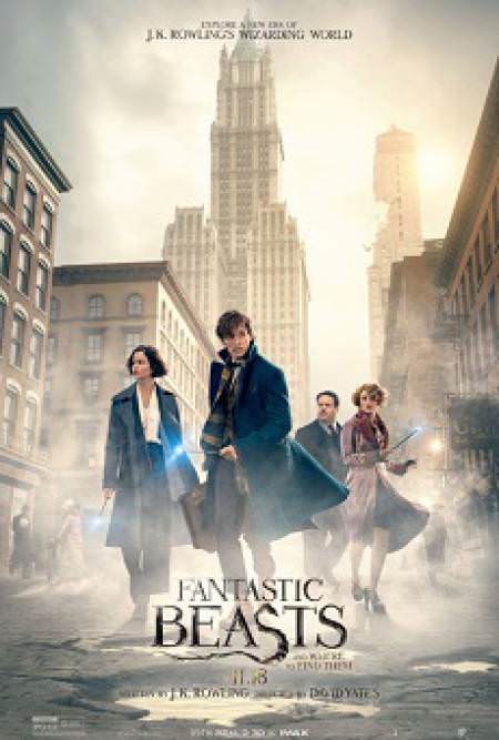 'Fantastic Beasts and Where to Find Them' Movie Poster